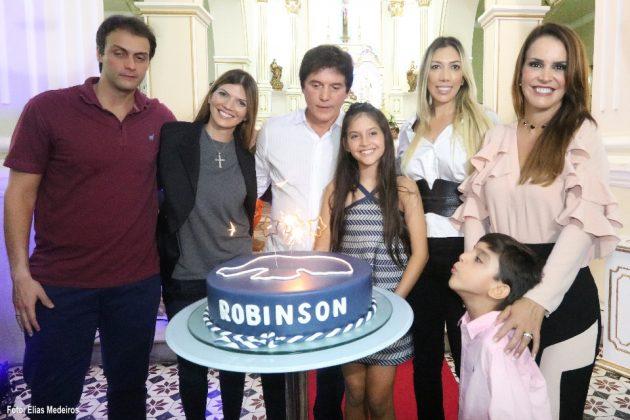 Governador celebra aniversário com missa em São José de Mipibú.