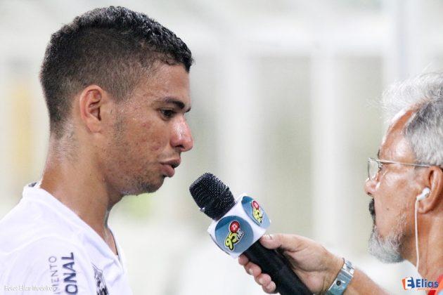 Erivélton marcou o tercieor gol do ABC.