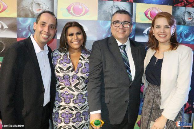 A secretaria de Comunicação do Governo do RN, Juliska Azevedo, prestigou