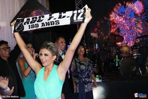 Mariana Cid homenageou o seu clube do coração: ABC.