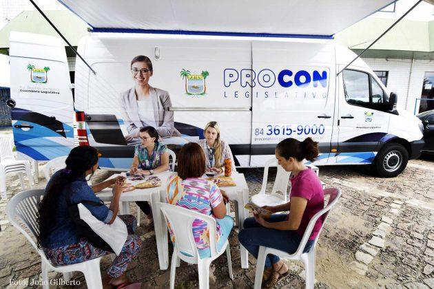 Procon Móvel da Assembleia atenderá consumidores na Zona Norte de Natal.