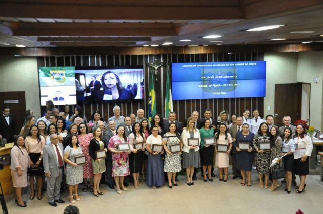 Sessão solene marca Dia da Mulher Cristã no RN