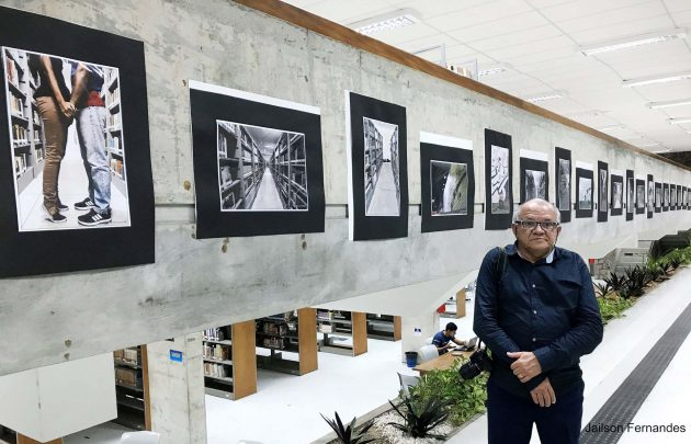 O fotógrafo e funcionário da UFRN foi o idelaizado da mostra.
