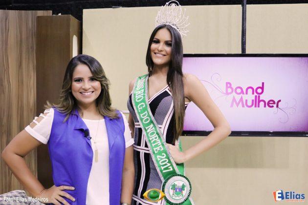 Milena Balza venceu vinte e quatro concorrentes e vai representar o Estado no Miss Brasil.