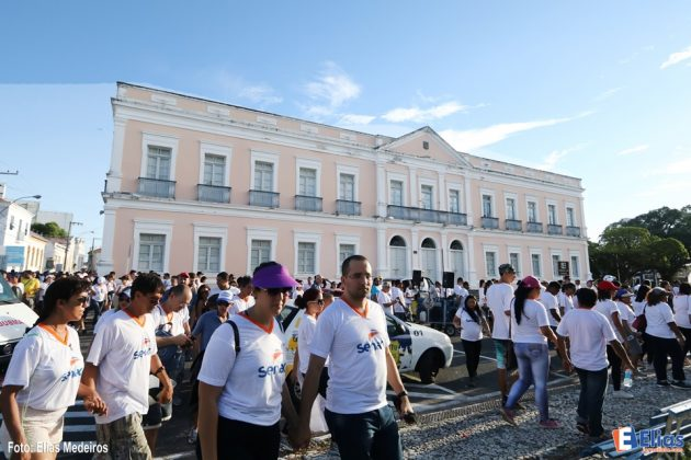 O Senac RN realizou na tarde deste sábado (27), a 3ª Caminhada Histórica.