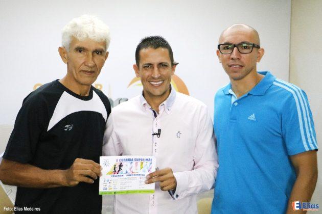 Coordenador da II Corrida Super Mãe Run divulga evento na TV Gazeta