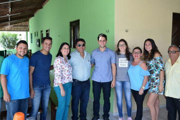 Rafael Motta visita obras garantidas por emendas parlamentares dele no Agreste