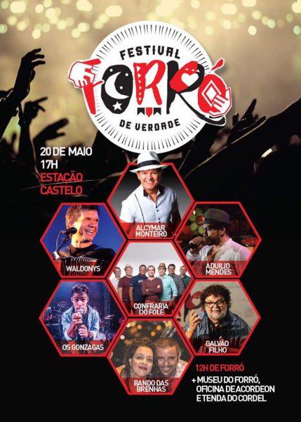 34 músicas com letra e 5 instrumentais vão ser julgadas por comissão. A lista completa está no www.forrodeverdade.com.br
