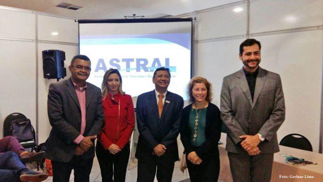 Direção da TV Assembleia do RN integra nova diretoria da Astral. (Foto: Gerlane Lima).