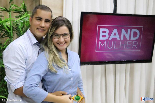 Band Mulher: Marcus e Amanda foram os vencedores da promoção Casamento dos Sonhos.