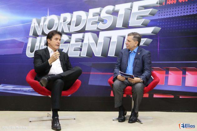 Robinson destaca avanço das obras de saneamento em Natal e do Complexo Viário da zona Norte.