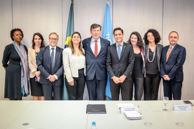 Rafael Motta debate com a ONU políticas para jovens brasileiros