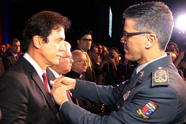 Em aniversário da PM, Robinson destaca promoção de seis mil militares. (Foto: Demis Roussos).