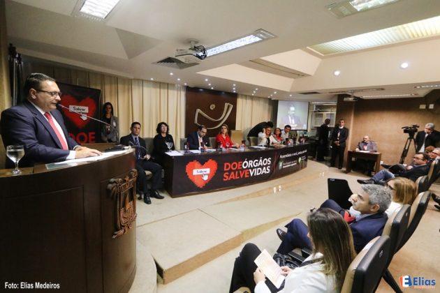A campanha de doação de órgãos lançada pela Assembleia Legislativa pautou a audiência pública