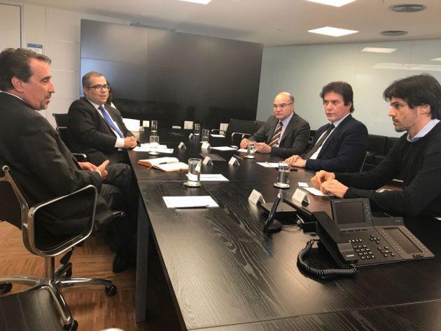 Fábio e Robinson Faria solicitam empréstimo para amenizar crise financeira do RN. (Mariana Rocha).