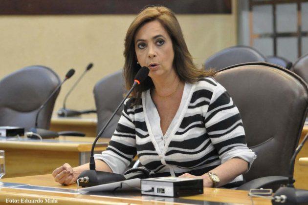 Márcia Maia cobra investimentos em Centrais do Cidadão.(Foto: Eduardo Maia).