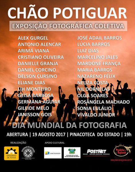Exposição Fotográfica Coletiva celebra Dia Mundial da fotografia em Natal.