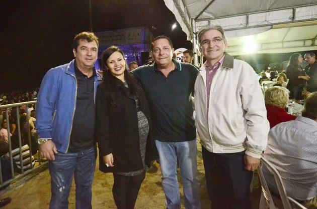 Ezequiel Ferreira ressalta a importância do emprego e renda no Festival de Inverno em Serra de São Bento.