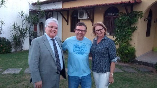 AMICO fecha parceria com TV Câmara para divulgar nova campanha. (Foto: Marcelo Barroso).