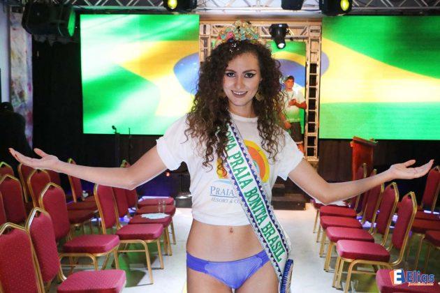 A vencedora foi Amanda Kaline, estudante universitária.