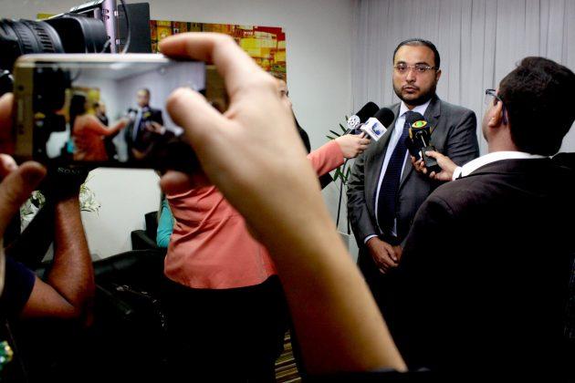 """Ney Lopes Júnior assume Presidência da Câmara: """"Gestão imparcial e democrática"""". (Foto: Elpidio Junior)."""