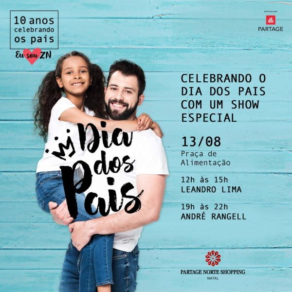 Varanda musical especial de Pais no Partage Norte Shopping.