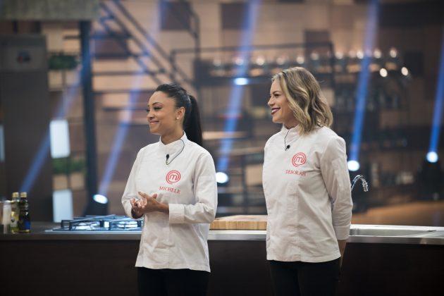 Michele e Deborah disputam a grande final.