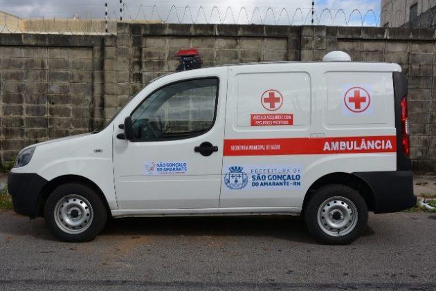 Prefeito Paulinho entrega nova ambulância ao Hospital Maternidade de São Gonçalo
