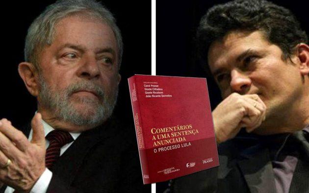 """livro """"Comentários a Uma Sentença Anunciada - O Processo Lula"""" - Obra reúne textos de mais de 100 colaboradores em defesa do petista"""