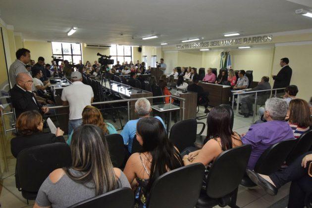 Equipamento de proteção às mulheres debatido na Assembleia Legislativa é entregue em São Gonçalo do Amarante. (Foto: Ney Douglas).