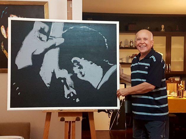 Artista visual alemão exibe mostra no Museu Café Filho.