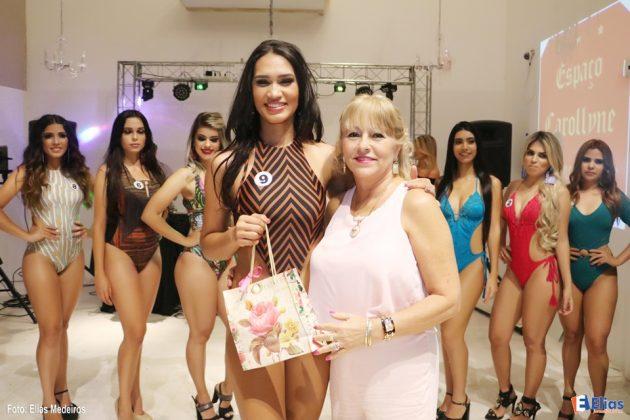 """Maria Nascimento foi escolhida pelas candidatas a """"Musa Simpatia""""."""