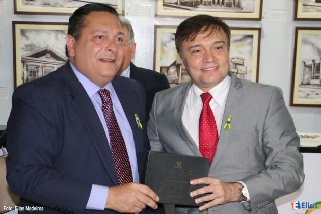 O juiz Jarbas Bezerra, um dos idealizadores do Setembro Cidadão, também prestigiou a abertura da exposição