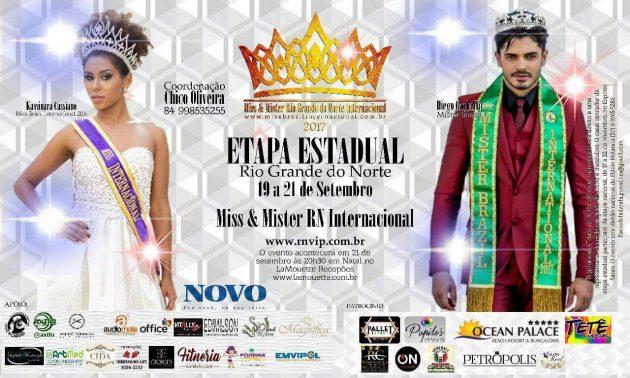 Natal recebe etapa estadual do concurso Beleza Internacional com a final dia 21 de setembro no