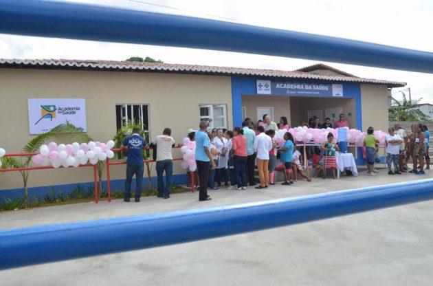 Uma obra por semana: prefeito Paulinho inaugura Academia da Saúde em São Gonçalo.