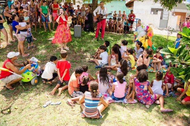 Ação Social celebra Dia das Crianças nos Guarapes.