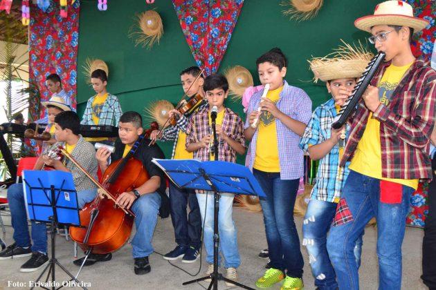 Dia do Nordestino será comemorado pelas crianças na LBV.