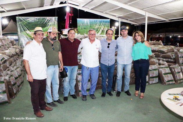Presidente da Assembleia acompanha na Festa do Boi avanços da luta contra seca.