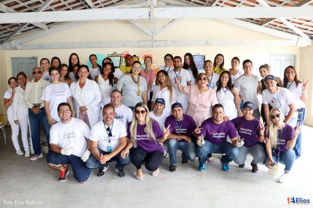 Fundação Telefônica Vivo realiza ação social no Instituto Juvino Barreto.