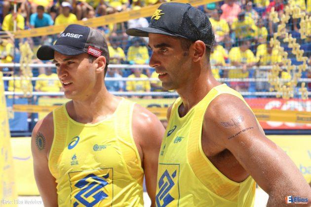 A medalha de bronze da etapa de Natal (RN) ficou com Pedro Solberg e George (RJ/PB).
