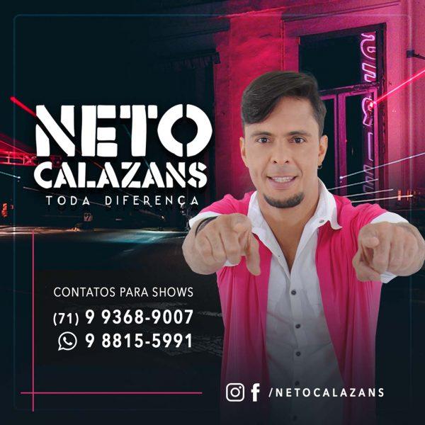 Neto Calazans lança clipe do single ¨ PAM PAM PAM ¨