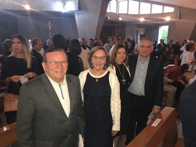 Em Roma, prefeito Paulinho participa da Celebração de Vésperas da Canonização