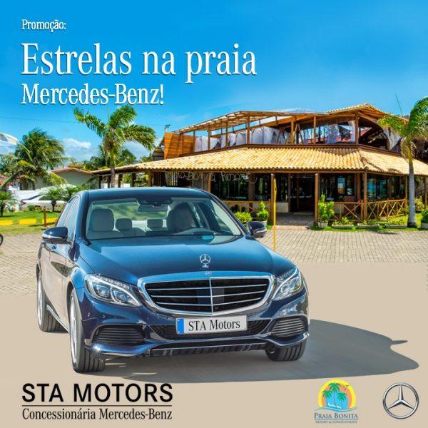 Praia Bonita Resort & Conventions lança promoção inédita com a Mercedes-Benz STA Motors.