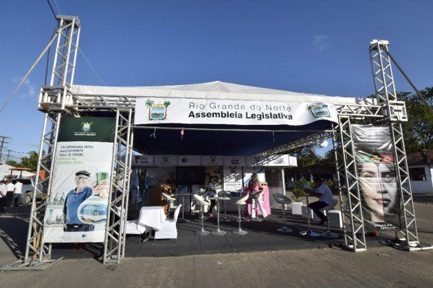 Estande da Assembleia na Festa do Boi terá programações de saúde e cidadania. (Foto: Ney Douglas).