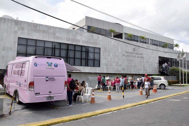 Assembleia e Grupo Reviver iniciam mutirão de mamografias gratuitas na quarta.