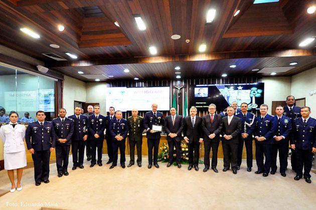 Assembleia Legislativa do RN celebra Dia do Aviador e FAB em sessão solene.