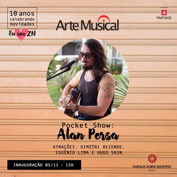 Partage Norte Shopping inaugura Arte Musical.