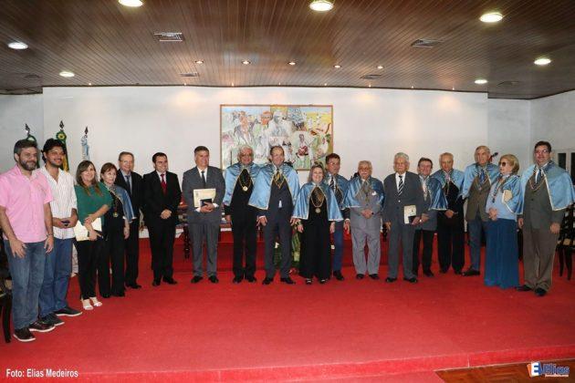 Academia Norte-Rio-Grandense de Letras comemora 81 anos e homenageia personalidades