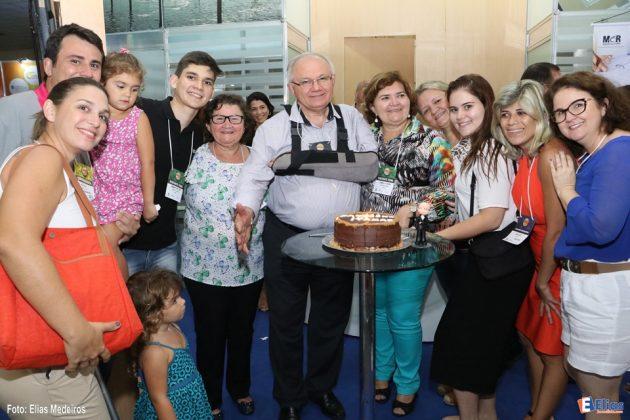 Familiares: Dupla comemoração pela passagem do aniversário de Itamar Rocha, Presidente da ABCC.