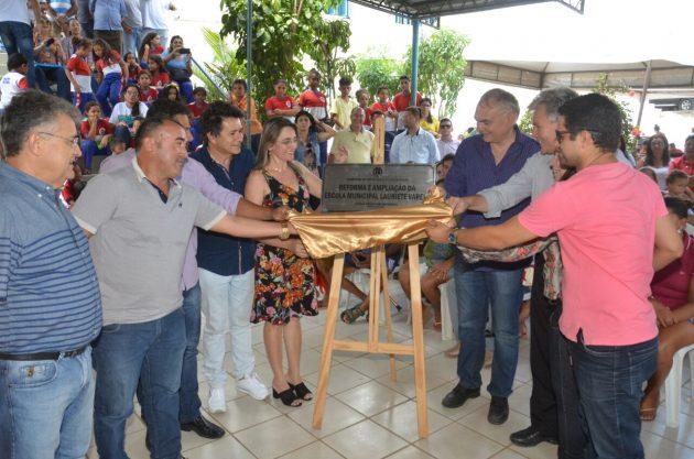 Em 11 meses, 47 escolas reformadas em São Gonçalo do Amarante.